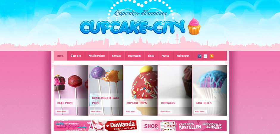 Cupcakecity.de // Cupcakes & Co. Design